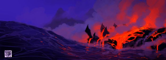 Through Fire and Water by tohdraws