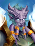 Blizzcon Badge: Shamannis by Kayley
