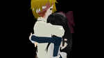 [MMD] Aya and Dio by Mello-Lover13093