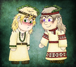 Gift - The Druid and the Volkhv by Kimanda
