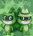 Happy Tree Friends: Lifty and Shifty by SuperLakitu