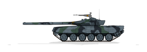 T-72K Russian Army by MacPaul