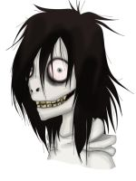 Jeff the Killer [HEADSHOT] by GlaceonClac