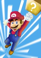 Video games tuseday speed drawing mario by IDROIDMONKEY