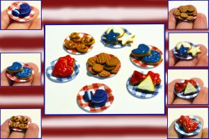 Fourth of July Desserts by yobanda