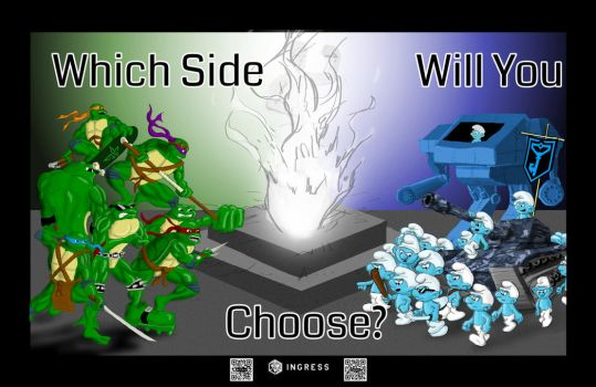 Which Side Will You Choose? by BradenYoung