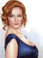 Christina Hendricks by clc1997