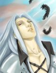 I Will Never Be a Memory ( Sephiroth ) by Favilla89