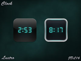 Clock for iPhone 4 by JDL16