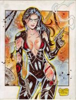 The Baroness (#6) by Rodel Martin by VMIFerrari