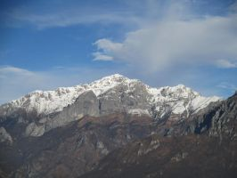 Prima neve in Grigna by Draco9700