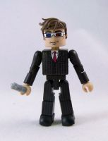 10th Doctor Custom Minimate by luke314pi