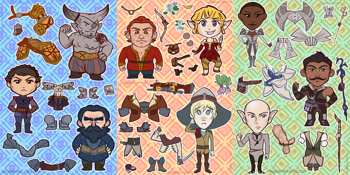 Dragon Age: Dress Up! by regeener