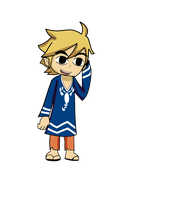 Toon link casual clothes by Kokiri-Kidd