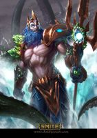 SMITE - Poseidon Earthshaker by ChrisBjors