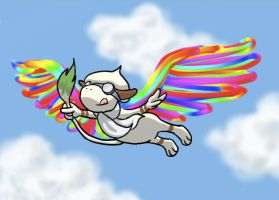 Pokemon-Draw me wings and Fly by rueyeet