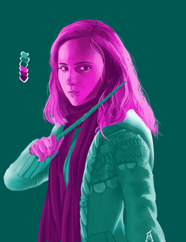 Hermione in #8 by aibite