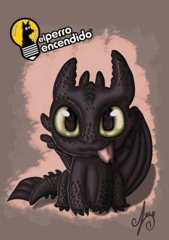 Toothless Fan Art by azuh