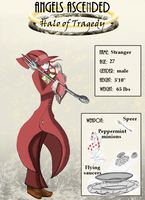 Character Reference Stranger by bowgallery