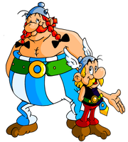 Asterix 'n Obelix now in Color by JamesmanTheRegenold