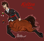 BD: Kolton by wolf-wishes