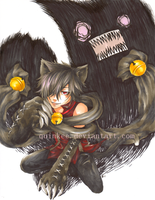 Pandora Hearts - Cheshire by quinkee