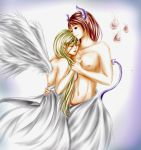 Angel and the devil by lenita1