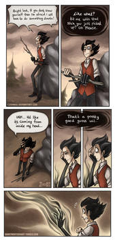 Don't Starve Comic 2 [Part 3] by ZombiDJ