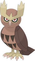 Noctowl by Porygon2z