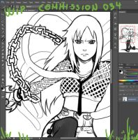 Wip commission 034 by Angy89
