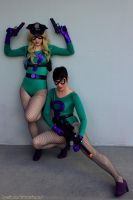 Riddler's Girls by Olivias-Atelier