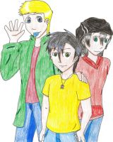Ed, Edd, and Eddy by KisaShika
