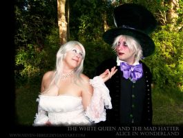 Hatter and The Queen by Neven-Ebrez