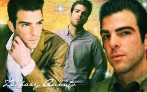Zachary Quinto Wallpaper by Raquel-Cheese