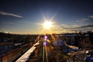 Sunny Midwinter Afternoon by CPDigitalDarkroom