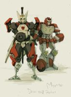 Dift and Ratchet by ogakyou