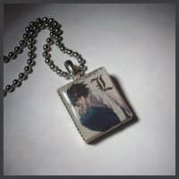 Death Note Necklace by Prepare-Your-Bladder