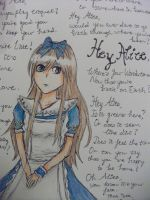 Hey Alice by ICannotDrawToSaveMe
