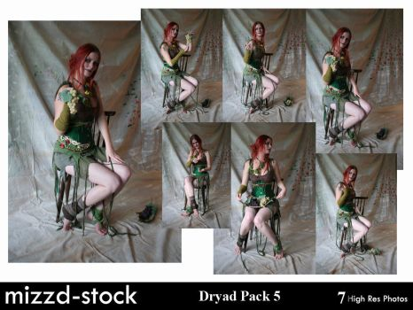Dryad Pack 5 by mizzd-stock