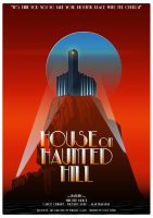 (1959)House On Haunted Hill Poster by MuratCALIS