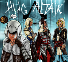 AC - Mission:Hug Altair by Not-Sparkly-At-All