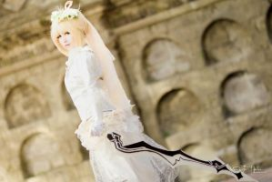 Saber Bride (Battlefield) by Mikkitea