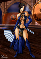 Mortal Kombat: Kitana - Alternate Costume by JhonatasBatalha