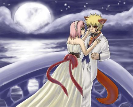NaruSaku: Beauty and the Beast by sonteen12
