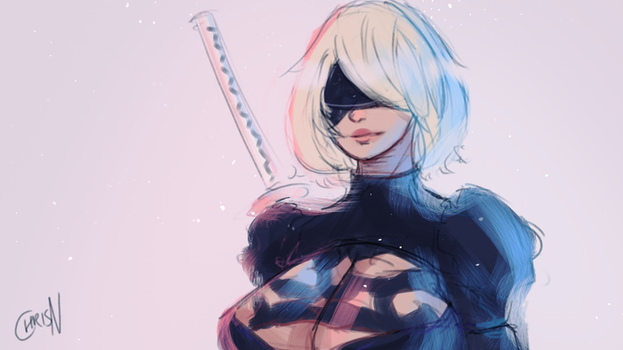 2B - Cotton Candy by ChrisN-Art