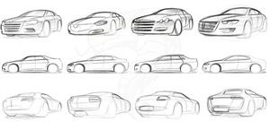Dacia M3C - Ideation Sketches by KobRaa