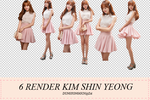 Pack 3 render Kim Shin Yeong by dungyonggun