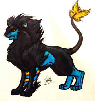 Luxray by TebbyZed