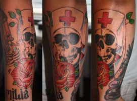 skull nurse by Unibody