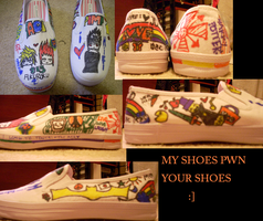 my customized shoes by HieisQueen07